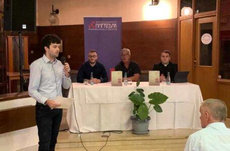 """HKD """"Napredak"""": U Žepču promovirana knjiga autora dr. Krunoslava Draganovića"""