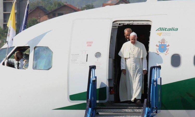 Papa Franjo u posjeti Slovačkoj