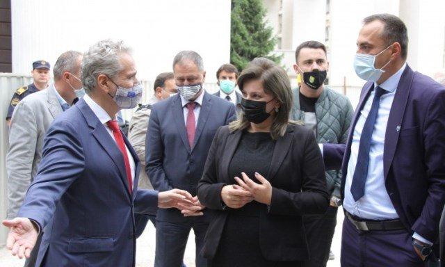 Položen kamen temeljac za aneks zgrade Općinskog suda u Zenici, ministar Nikolić najavio početak izgradnje Općinskog suda u Žepču