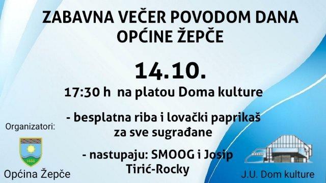 U četvrtak Zabavna večer povodom Dana općine Žepče