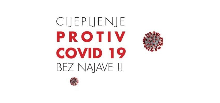 JU Dom zdravlja Žepče nastavlja s cijepljenjem bez najave i narednog tjedna  od 11.10. do 13.10.