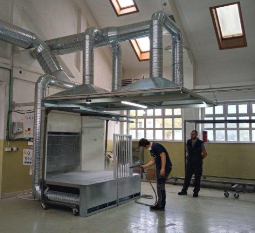 Audio i Foto: U KŠC Don Bosco Žepče u školskoj radionici u  rad pušten  ventilacijski sustav