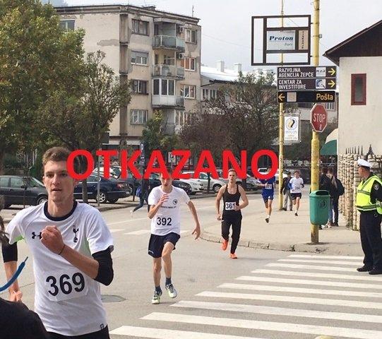 "Otkazana utrka ""Trčanjem do zdravlja"""