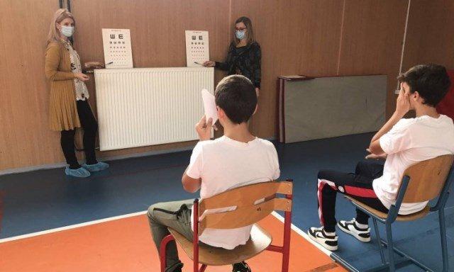 INZ -Svaki četrnaesti školarac u ZDK ima probleme s vidom